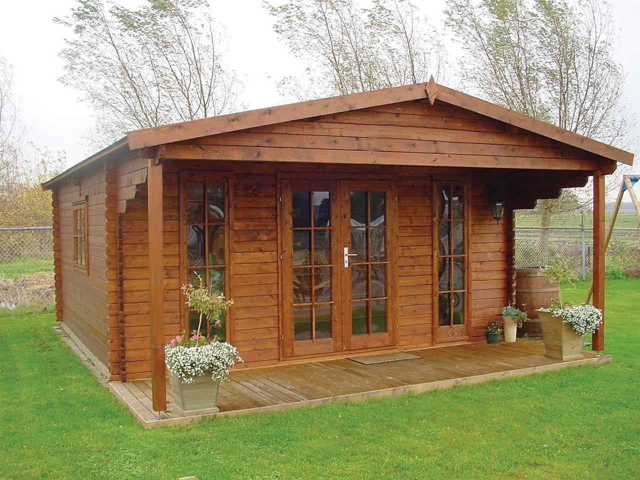 Строительство деревянного дома своими руками - Строим 56